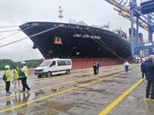 Navieras ya pueden traer a Guayaquil buques gigantes por canal más profundo